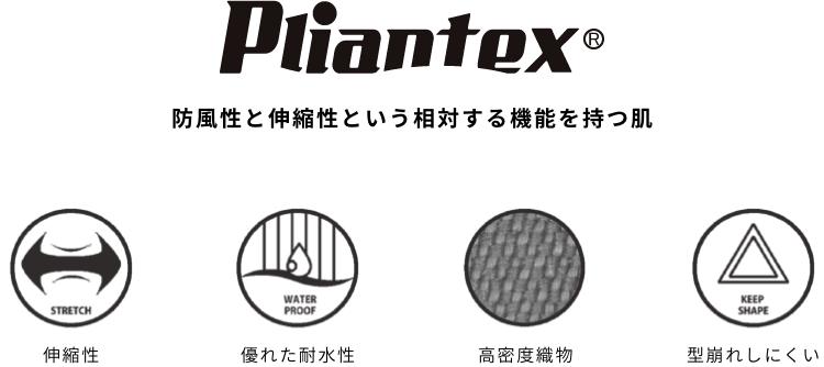 Pliantex(プライアンテックス)機能の説明図